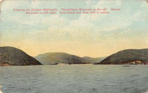 Hudson Highlands New York Dunderberg and Manito Mtns Iona Island pc Z16632