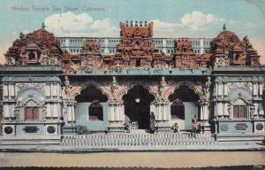 Hindoo Temple , Sea Street , COLOMBO , Ceylon , 00-10s