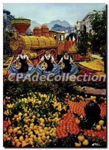 Postcard From Moderne Menton Lemon Holidays
