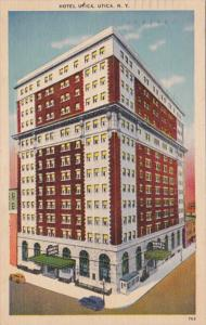 New York Utica Hotel Utica 1951