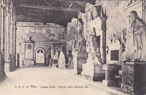 Campo Santo, Interno Della Galleria Est., PISA (Tuscany), Italy, 1900-1910s