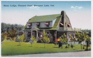 STURGEON, Ontario, Canada, 1900-1910's; Stone Lodge, Pleasant Point