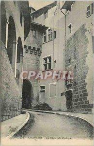 Old Postcard Chambery La Rampe du Chateau