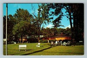 Winona Lake IN- Indiana, Billy Sunday Tabernacle, Chrome Postcard