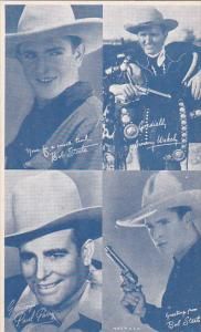 Cowboy Arcade Card Bob Steele Jimmy Wakely Paul Parry Bob Steele