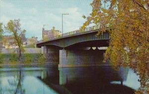 View Of Collier Street Bridge Across Susquehana River Binghamton New York