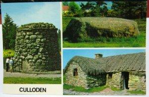 Scotland Culloden Memorial Cairn Cumberland stone etc - unposted