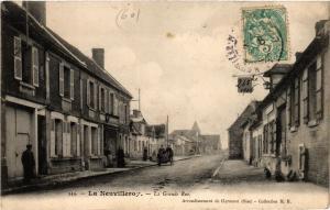 CPA La NEUVILLEROY - La Grande Rue (259509)