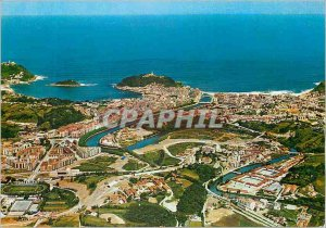Postcard Modern San sebastian 97 Aerial view
