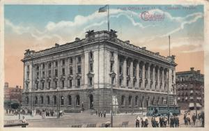 CLEVELAND , Ohio , PU-1924 ; Post Office and U.S. Custom House