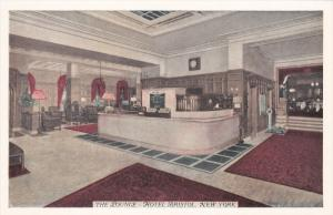The Lounge, Hotel Bristol, NEW YORK CITY, New York, 1910-1920s