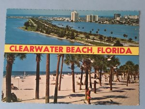 Vintage postcard Clearwater Beach, Clearwater, Florida (FL-10)