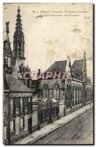 Old Postcard Arras Set the & # 39ancien Convent of the Blessed Sacrament of s...