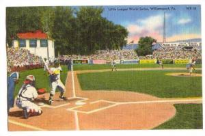 Little League World Series, Williamsport, Pennsylvania, 30-40s