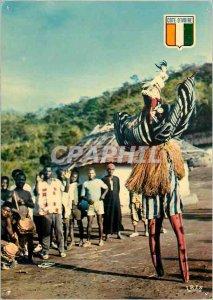 Modern Postcard Cote d'Ivoire
