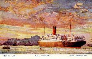 Cunard Line - RMS Ausonia        Artist: Rosenvinge