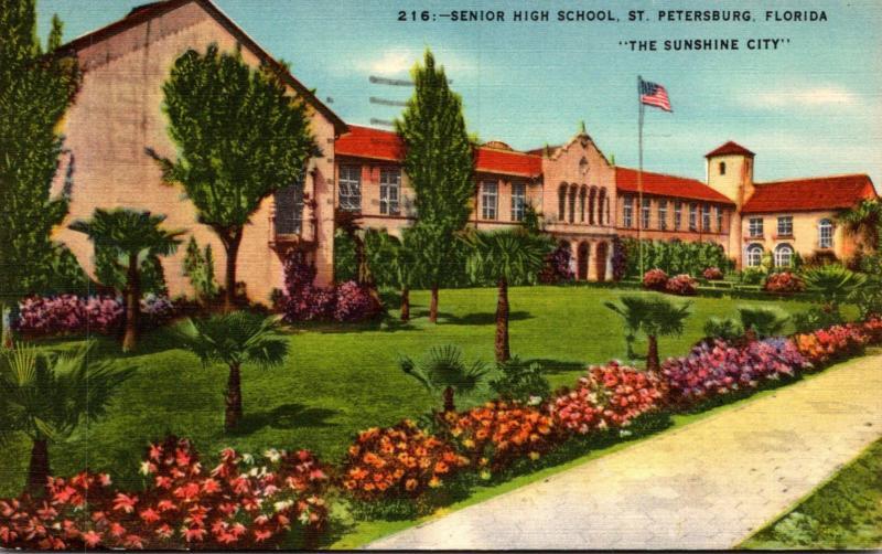 Florida St Petersburg Senior High School 1949