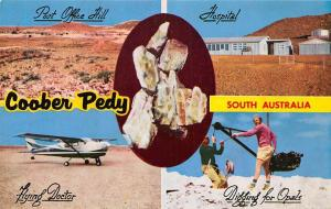 South Australia, Coober Pedy, Post Office Hill, Hospital, Flying Doctor