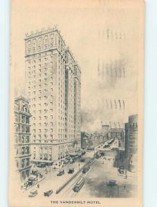 Divided-Back VANDERBILT HOTEL AT PARK AVENUE & 34TH ST New York City NY B3114