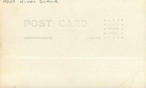 Carson City Nevada 1920s River Scene RPPC Photo Postcard 21-3568