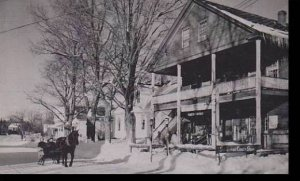 Vermont Weston Old Time Sleigh At Verst Ortons Orignal Country Store Dexter P...