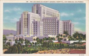 Los Angeles County General Hospital Los Angeles California