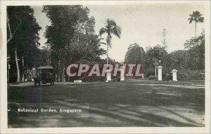 Postcard Modern Singapore Botanical Garden