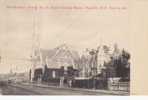 DUNEDIN , New Zealand , 00-10s; Braithwaite´s Series. No. 21 Knox Church Manse