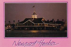 California Newport Harbor Balboa Pavilion At Night