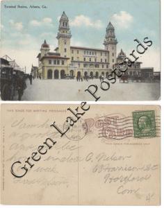 Terminal Station, Atlanta Georgia - 1910