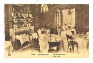 REIMS, France, Savoy-hotel Salle de Restaurant,00-10s