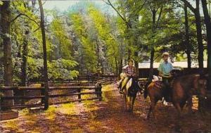 Indiana Spencer Horseback Riding Mccormicks Creek State Park