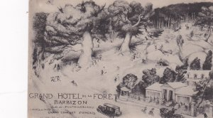 BARBIZON, Seine Et Marne, France, 1900-1910's; Grand Hotel de la Foret