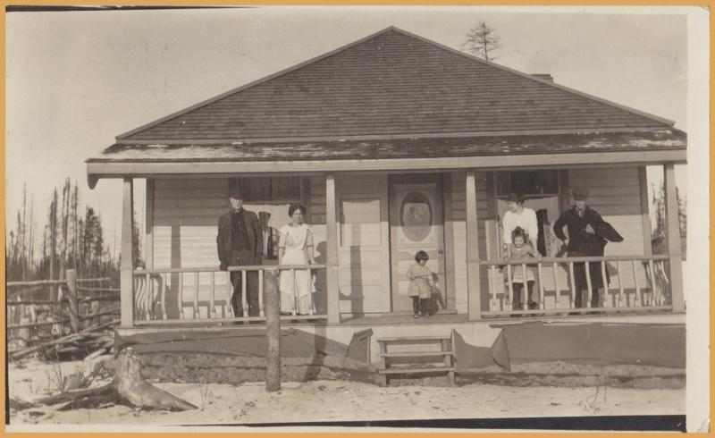 RPPC-Sioux Lookout, Ontario - Nellie Travis House - 1914