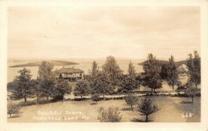 Northeast Somerset? Maine~Moosehead Lake~Palatial Home & Pavilion~RPPC c1928