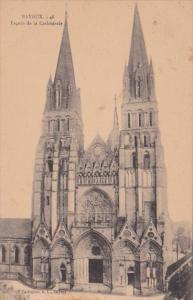 France Bayeux Facade de la Cathedrale