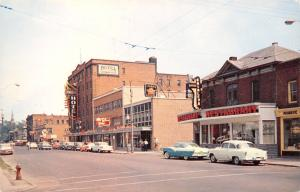 Cornwall Ontario Canada~Second Street~Shirley's Restaurant~Hotel~1950s Cars