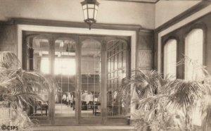 CHESTNUT HILL, Massachusetts, 1934; Vestibule to main dining room, Sanatarium of