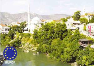 Germany - Mostar, Serbia - EUFOR Feldpost Post Card