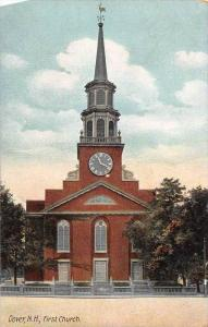 25489 NH, Dover, First Church