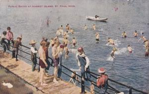 ST. PAUL, Minnesota, PU-1909; Public Baths At Harriet Island