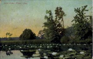 Echo Lake Piqua OH 1918