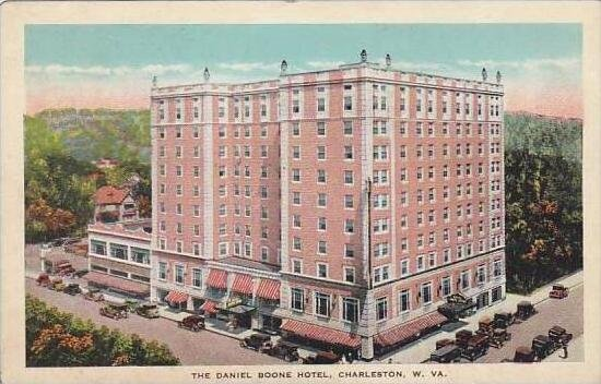 West Virginia Charleston The Daniel Boone Hotel