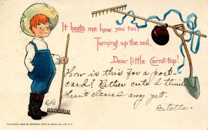 It beets me how you toil…      Artist: E. Curtis    (Tuck)