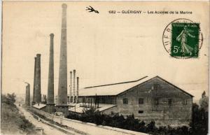 CPA GUERIGNY - Les Acieres de la Marine (518047)
