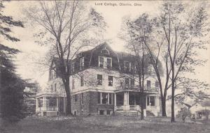 Exterior,  Lord Cottage,  Oberlin,  Ohio,   PU_00-10s