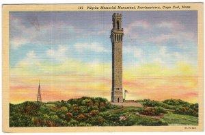 Provincetown, Cape Cod, Mass, Pilgrim Memorial Monument