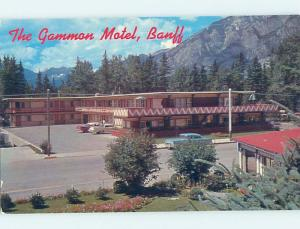 Unused Pre-1980 MOTEL SCENE Banff Alberta AB B5693