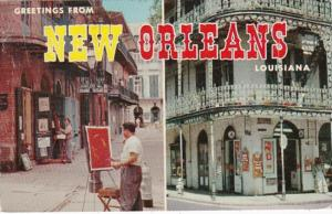 Louisiana Greetings From New Orleans 1962