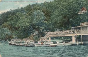 Hain Club and Boat House on Mombasha Lake Monroe Orange County NY - pm 1914 -DB